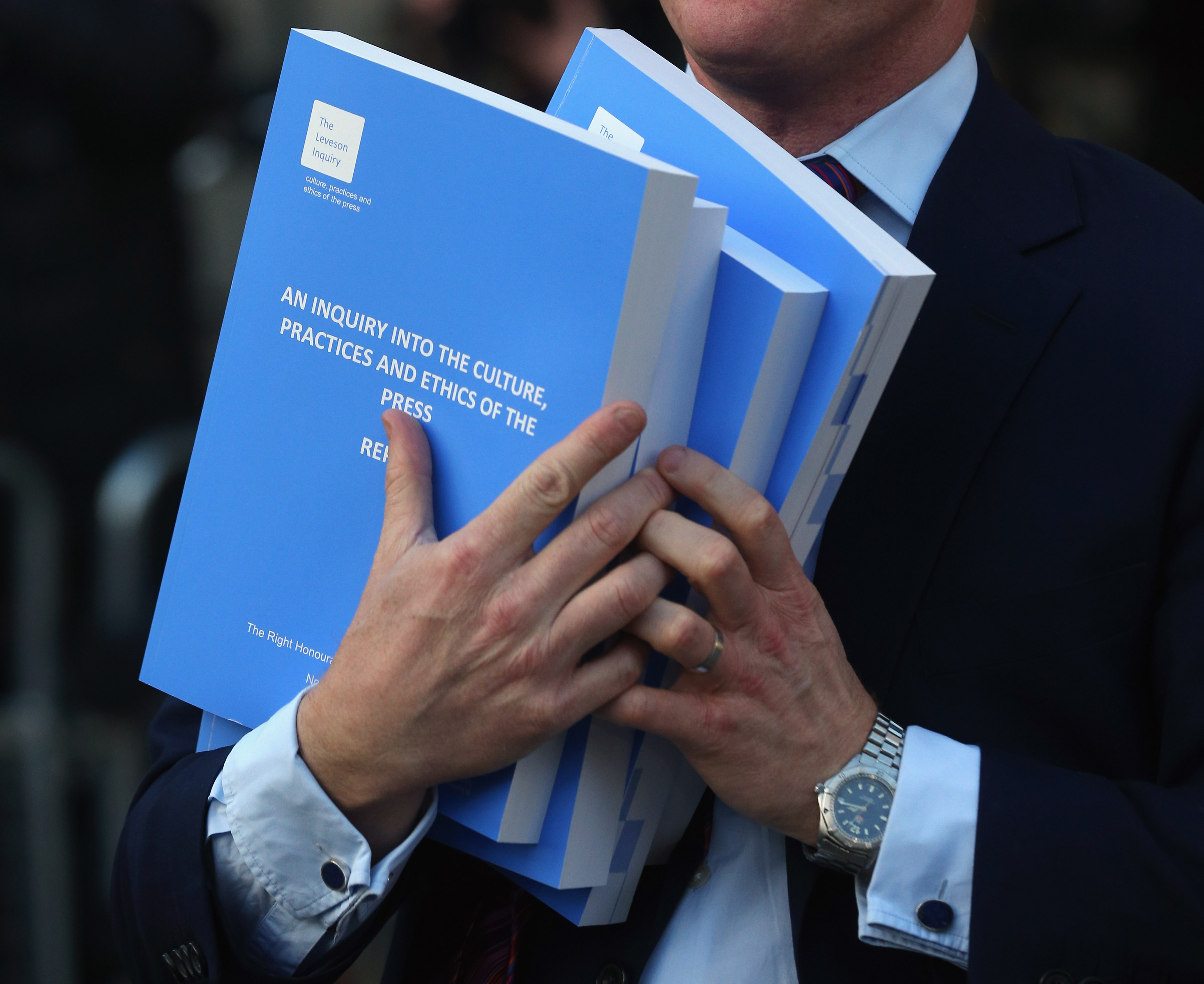 Lord Leveson Publishes His  Report Into Media Standards