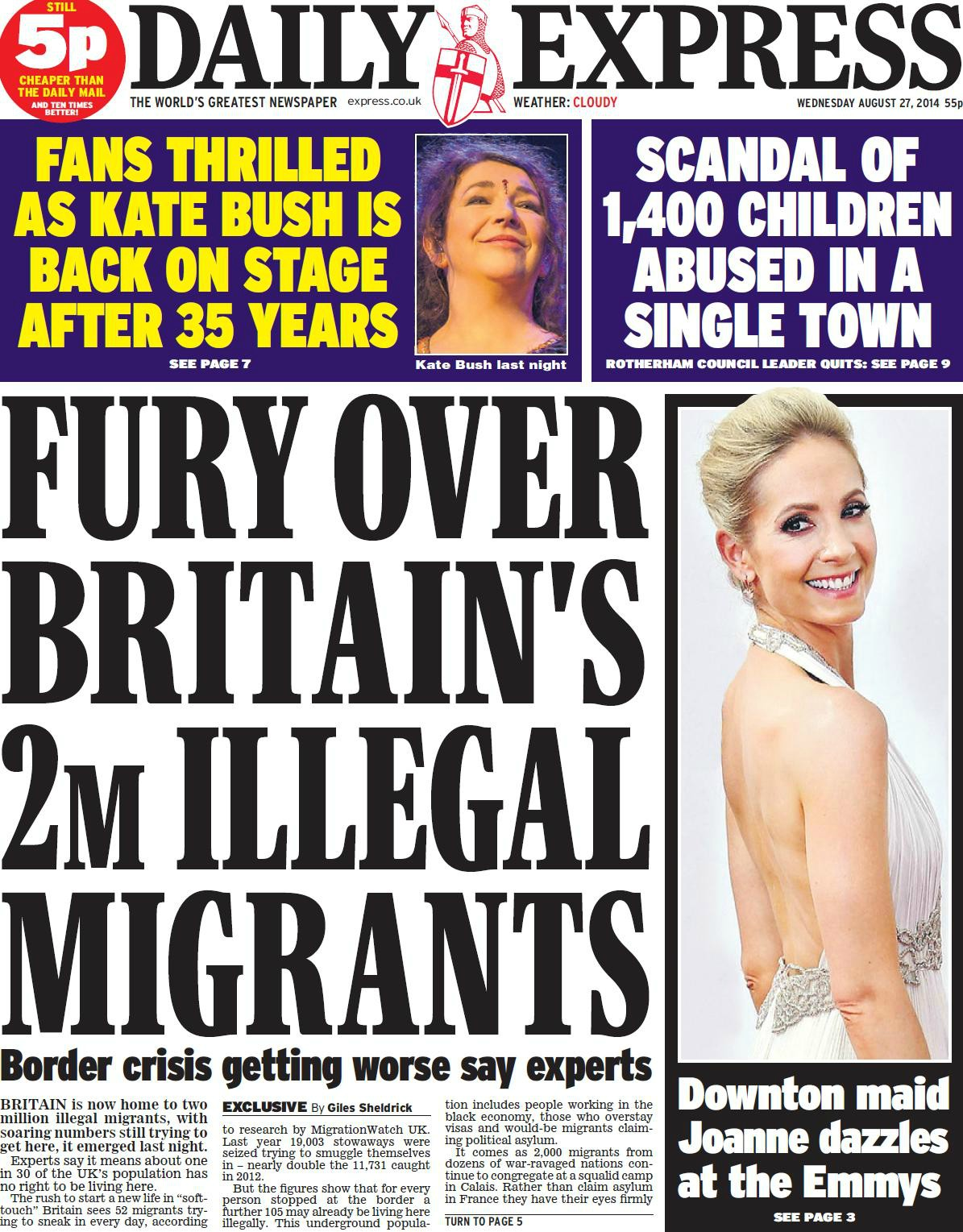 front-Daily Express