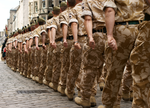 Image result for british soldiers marching