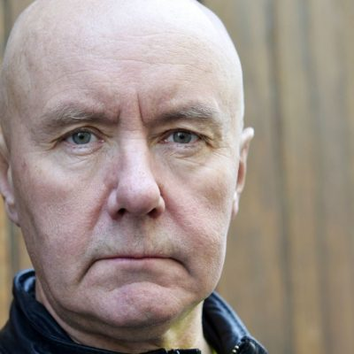 PARIS, FRANCE - APRIL 30:  Scottish writer Irvine Welsh poses during portrait session held on April 30, 2014 in Paris, France. (Photo by Ulf Andersen/Getty Images)